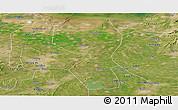 Satellite Panoramic Map of Changyi