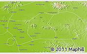 Physical 3D Map of Qufu