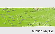 Physical Panoramic Map of Qufu