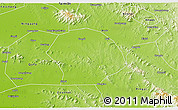 Physical 3D Map of Sishui