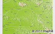 Physical Map of Sishui