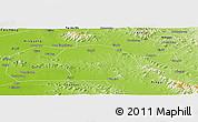 Physical Panoramic Map of Sishui