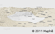 Classic Style Panoramic Map of Fenyang