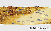 Physical Panoramic Map of Fenyang