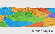 Political Panoramic Map of Fenyang