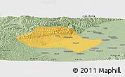 Savanna Style Panoramic Map of Fenyang