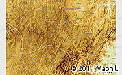 Physical Map of Heshun