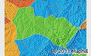 Political Map of Heshun