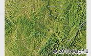 Satellite Map of Heshun