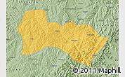 Savanna Style Map of Heshun