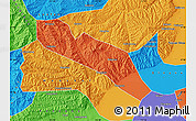 Political Map of Jiaocheng