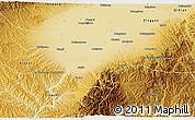 Physical 3D Map of Jiexlu