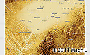 Physical Map of Jiexlu