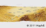 Physical Panoramic Map of Jiexlu