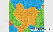Political Map of Lin Xian