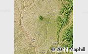 Satellite Map of Lin Xian