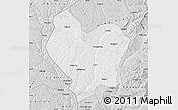 Silver Style Map of Lin Xian