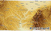 Physical 3D Map of Lingshi