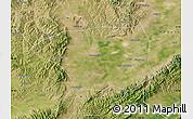 Satellite Map of Shuo Xian