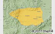 Savanna Style Map of Shuo Xian