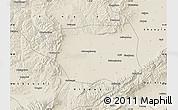 Shaded Relief Map of Shuo Xian