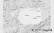 Silver Style Map of Shuo Xian