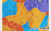Political Map of Taiyuan Shiqu
