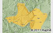 Savanna Style Map of Taiyuan Shiqu