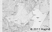 Silver Style Map of Taiyuan Shiqu