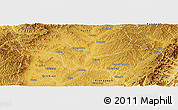 Physical Panoramic Map of Wuxiang