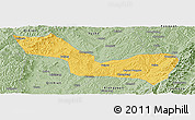 Savanna Style Panoramic Map of Wuxiang