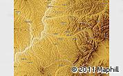 Physical Map of Xing Xian