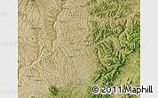 Satellite Map of Xing Xian