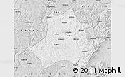 Silver Style Map of Xing Xian