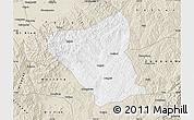 Classic Style Map of Yushe