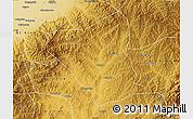 Physical Map of Yushe