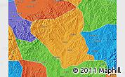 Political Map of Yushe