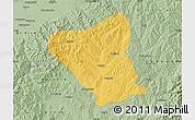 Savanna Style Map of Yushe