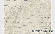 Shaded Relief Map of Yushe