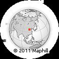 Outline Map of Yushe