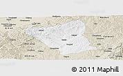 Classic Style Panoramic Map of Yushe