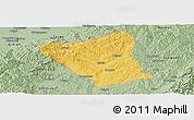 Savanna Style Panoramic Map of Yushe