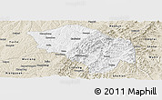 Classic Style Panoramic Map of Zuoquan