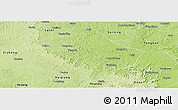 Physical Panoramic Map of Anyue