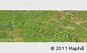 Satellite Panoramic Map of Anyue