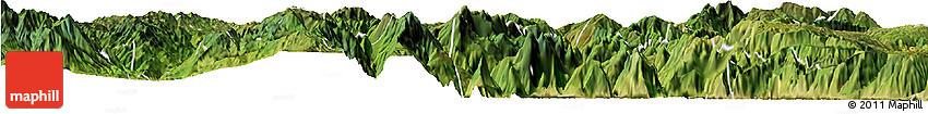 Satellite Horizon Map of Butuo