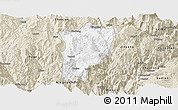 Classic Style Panoramic Map of Butuo