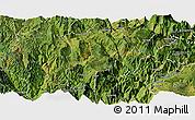 Satellite Panoramic Map of Butuo