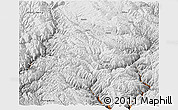 Physical Panoramic Map of Daocheng