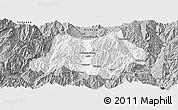 Gray Panoramic Map of Dechang